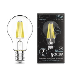 Лампа Gauss LED Filament Graphene A60 E27 15W 1740lm 4100К